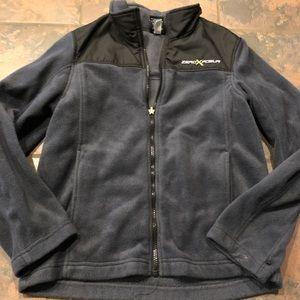 Other - Nice fleece zip up jacket size medium 10/12